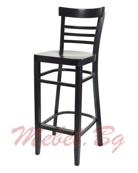 Massive wood barstool 1308B
