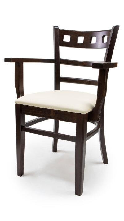 Стол с подлакътници от масив бук – 1315A
