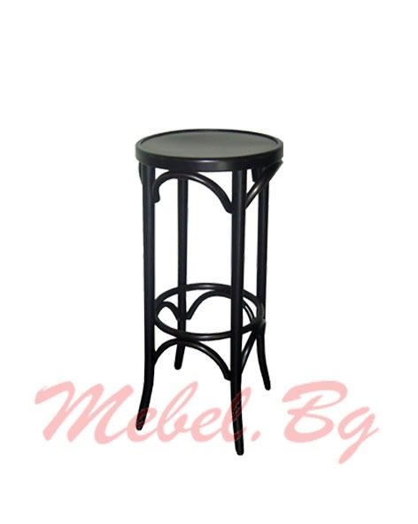 Massive wood barstool 1329B