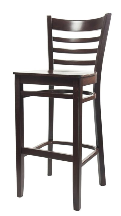 Solid Wood bar stool made of Beech - 1305B