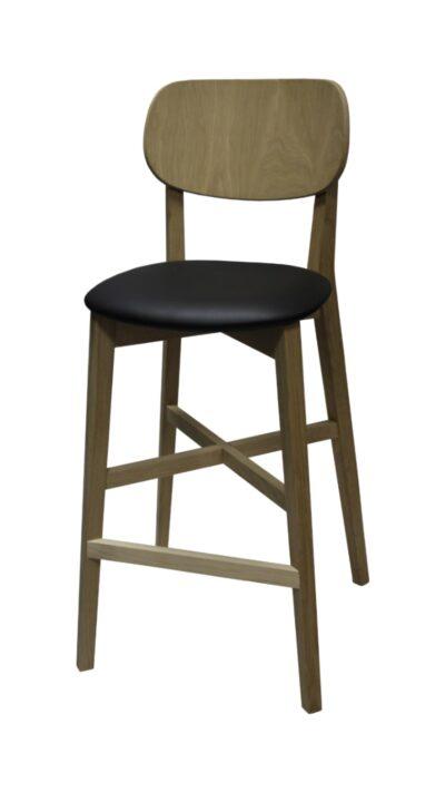 Масивен бар стол от бук или бук - 1306B
