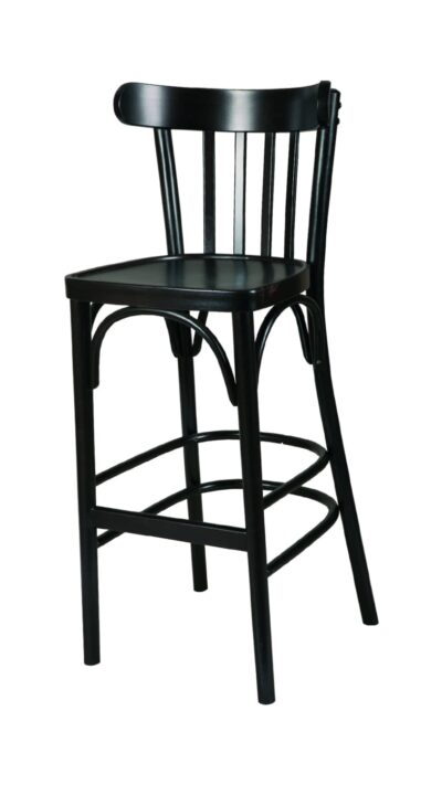 Solid Wood Barstool made of Beech - 1319B