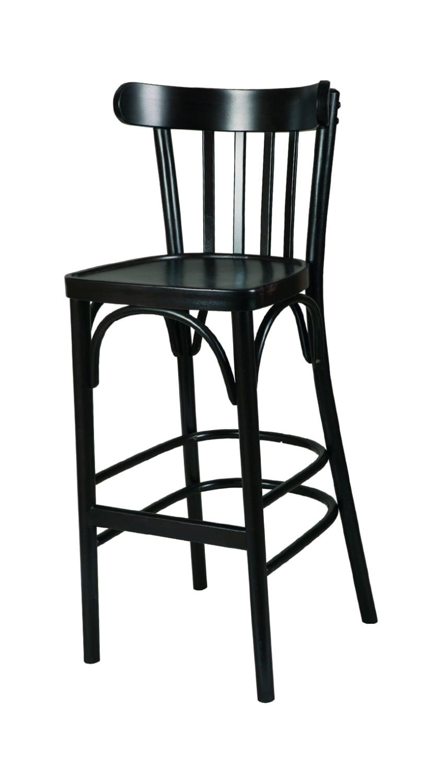Масивен бар стол от бук - 1319B