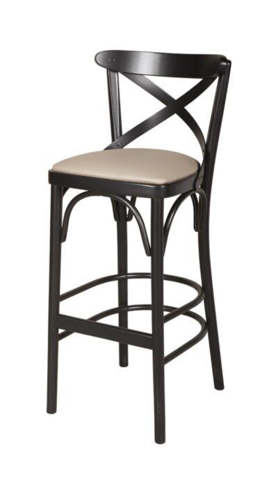 Масивен бар стол от бук - 1327BP