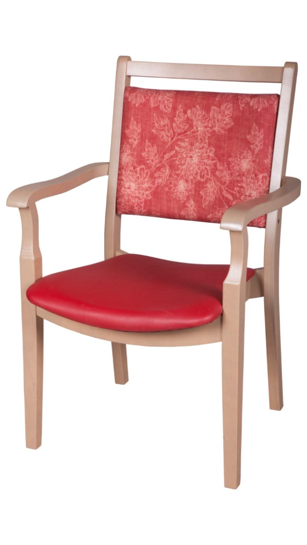 Solid wood armchair made of beech - 1391AH