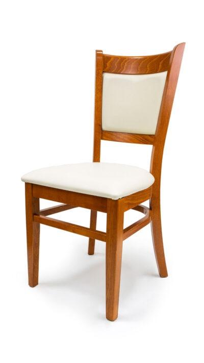 Тапициран стол от масивна дървесина 1352S