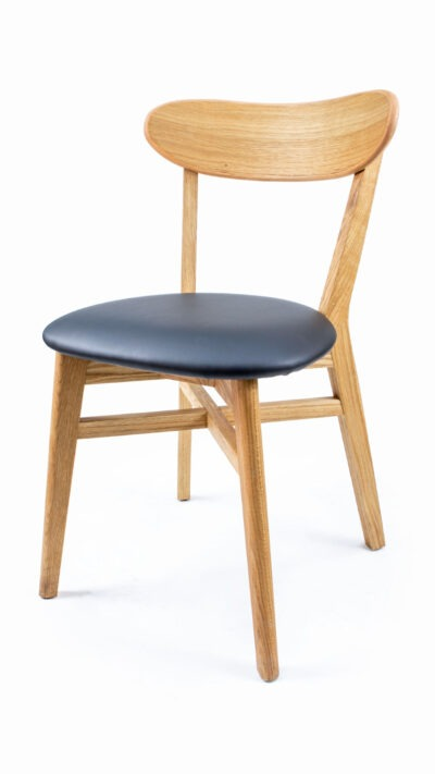 Solid wood chair made of beech or oak - 1321SX