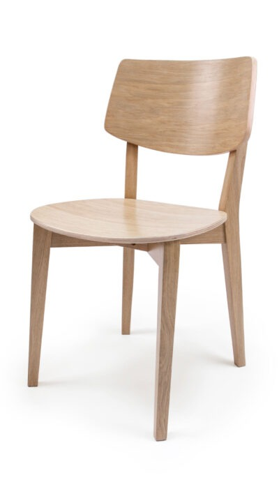 Solid Wood Chair made of Beech or Oak - 1371S