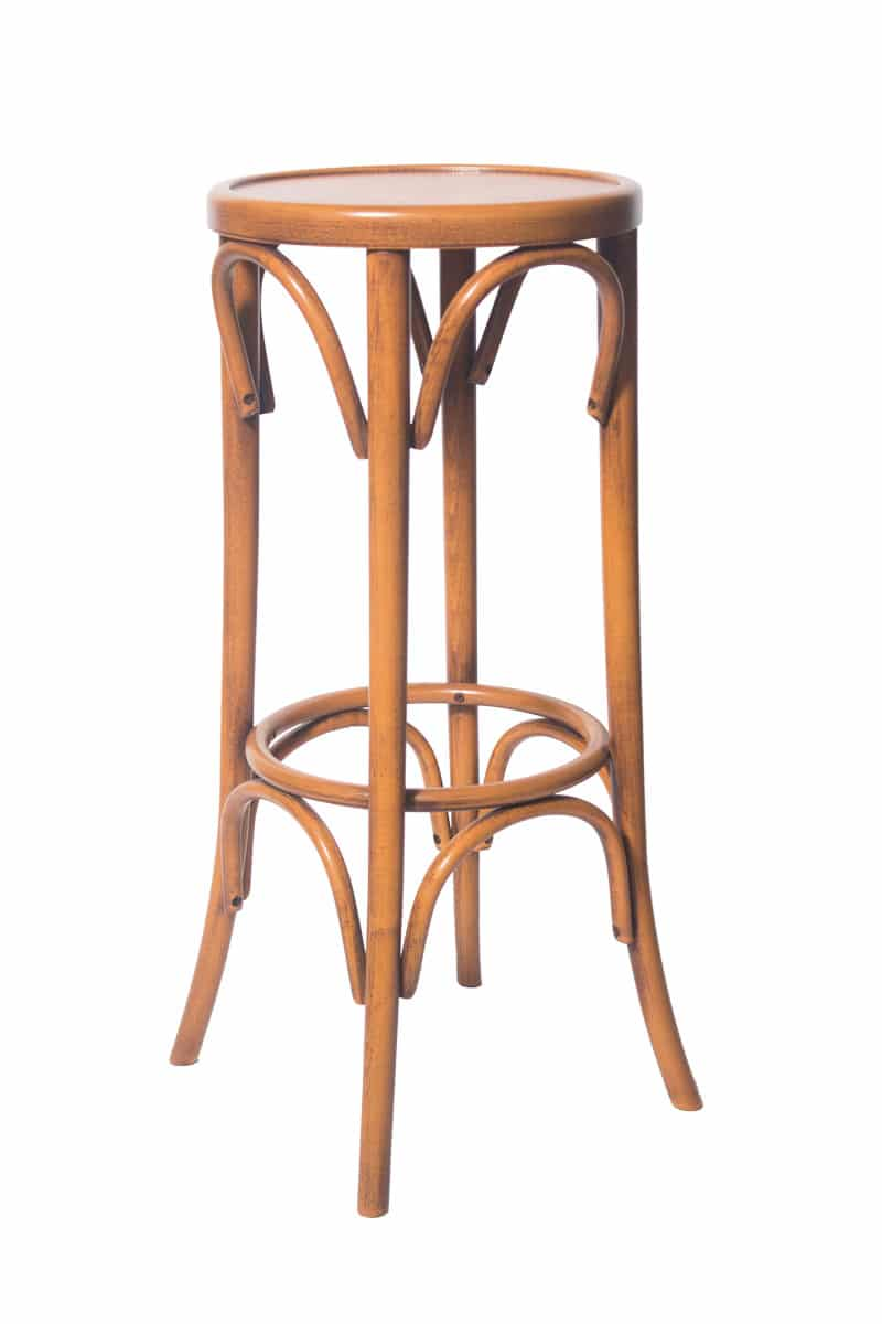 solid wood barstool