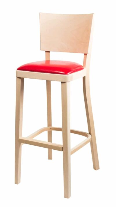 Solid wood bar stool 1328B