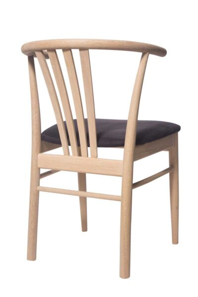 Solid wood chair. Viennese type chair.