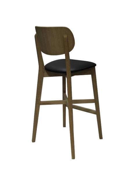 тапициран бар стол