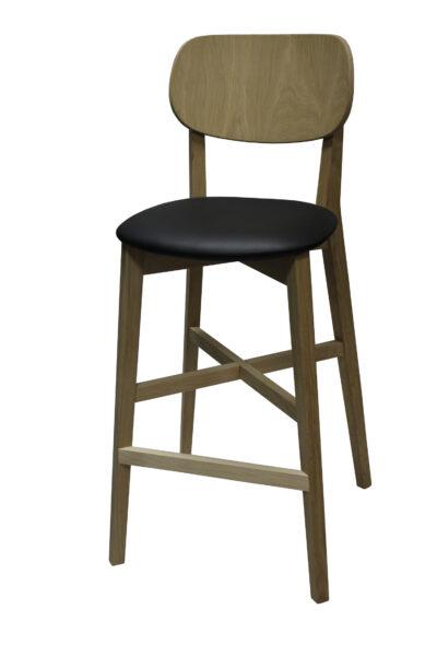 Solid wood bar stool 1306B