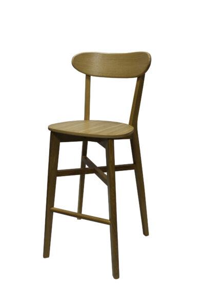 Solid wood bar stool 1321B