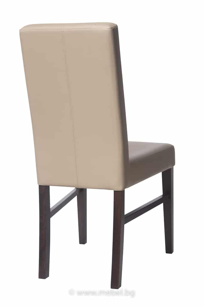 Тапициран стол от масивна дървесина 1364S
