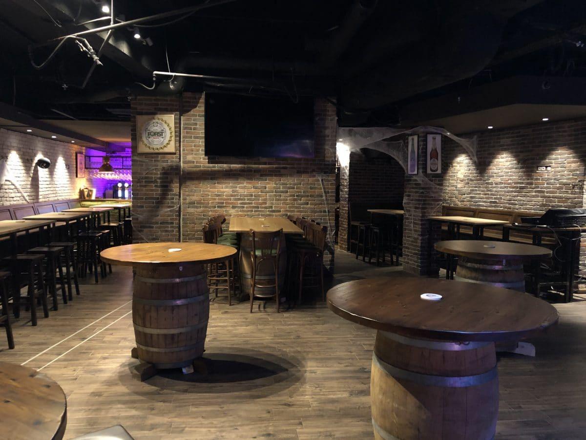 Live Club 1857 София - столове от Елимекс