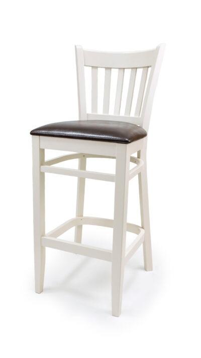 Solid Wood bar stool made of Beech - 1304B