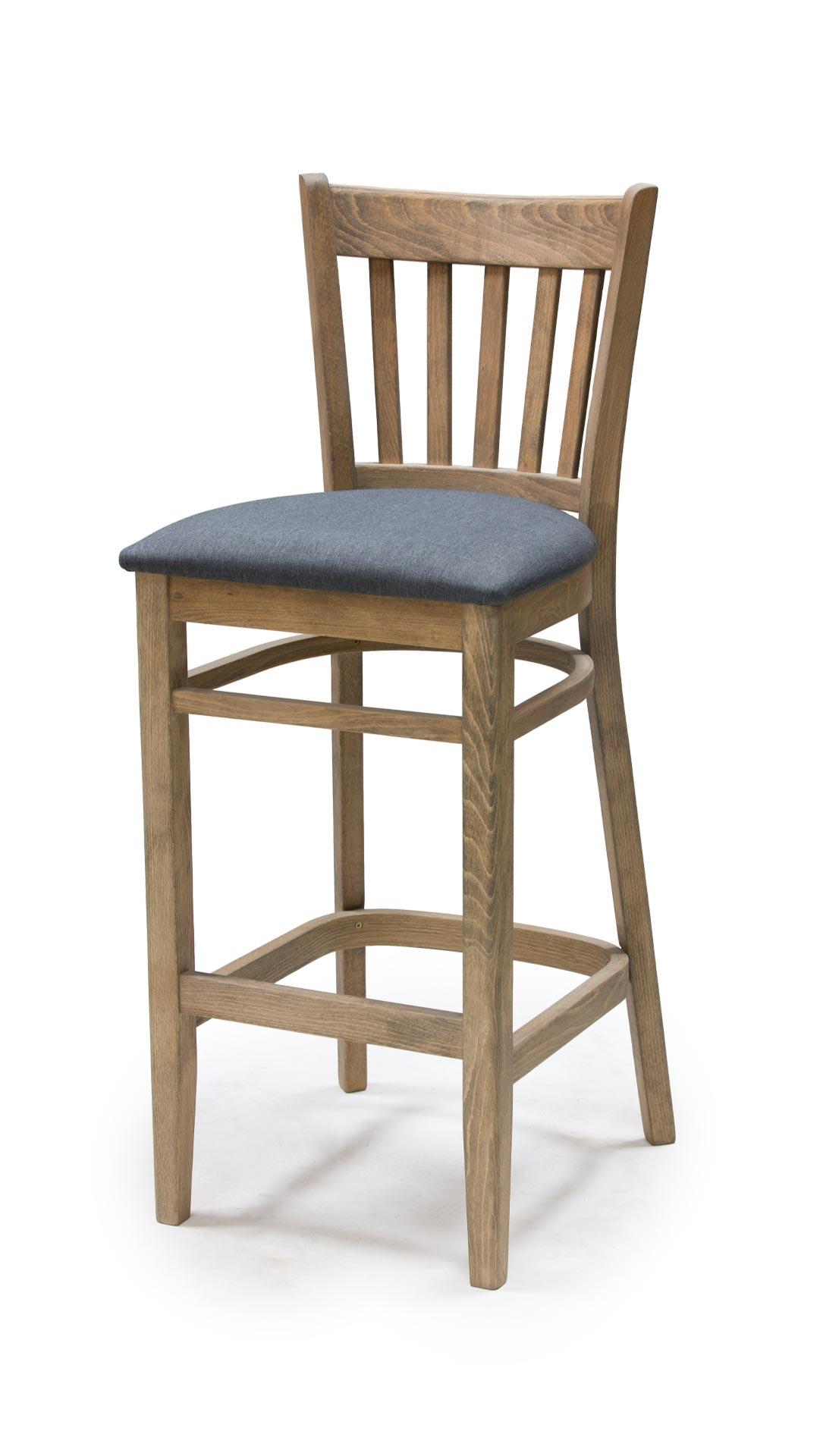 Бар стол от масив бук - 1304B