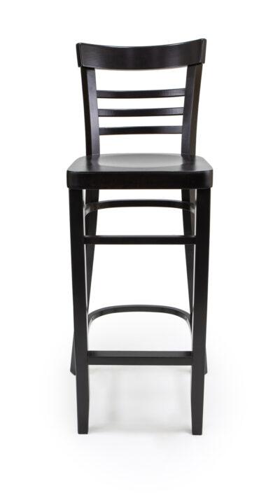 Solid Wood bar stool made of Beech - 1308B