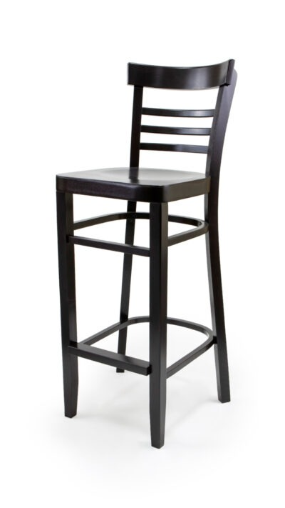 Solid Wood barstool made of Beech - 1308B