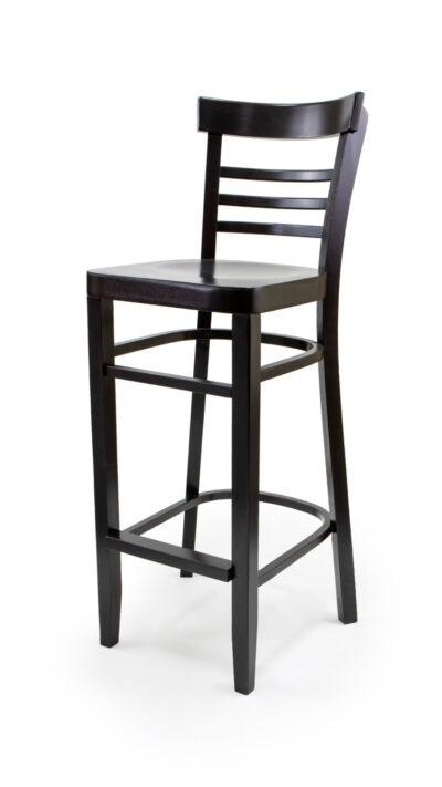 Масивен бар стол от бук - 1308B