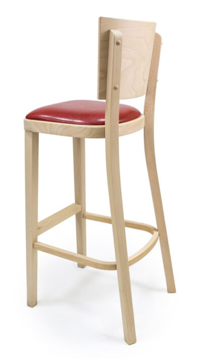 Solid Wood bar stool made of Beech - 1328B
