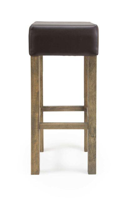 Solid Wood bar stool made of Beech - 1366B