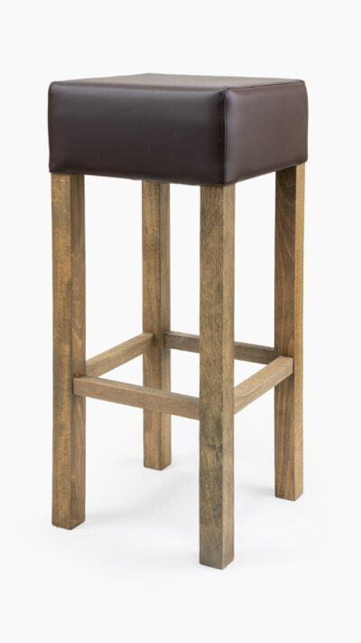 Solid Wood barstool made of Beech - 1366B