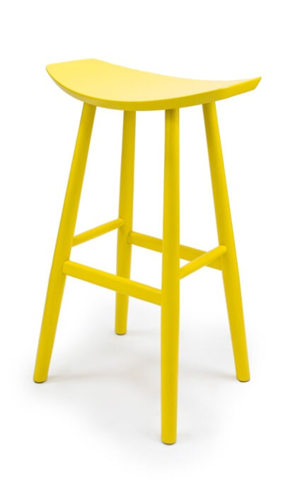 Масивен бар стол от бук - 1369B