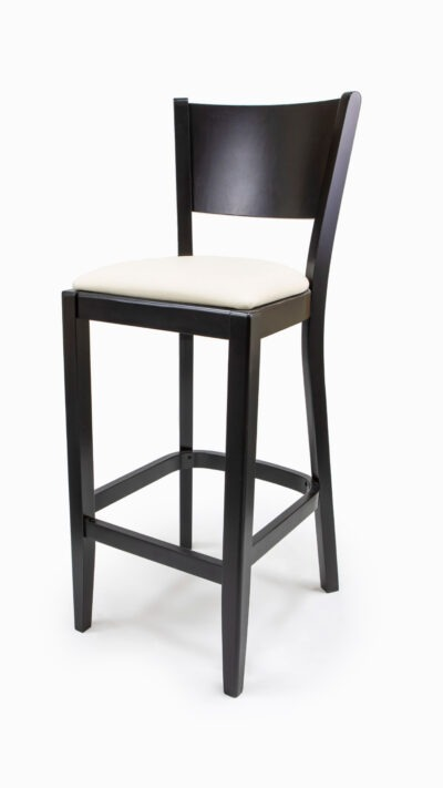 Solid Wood barstool made of Beech - 1301B