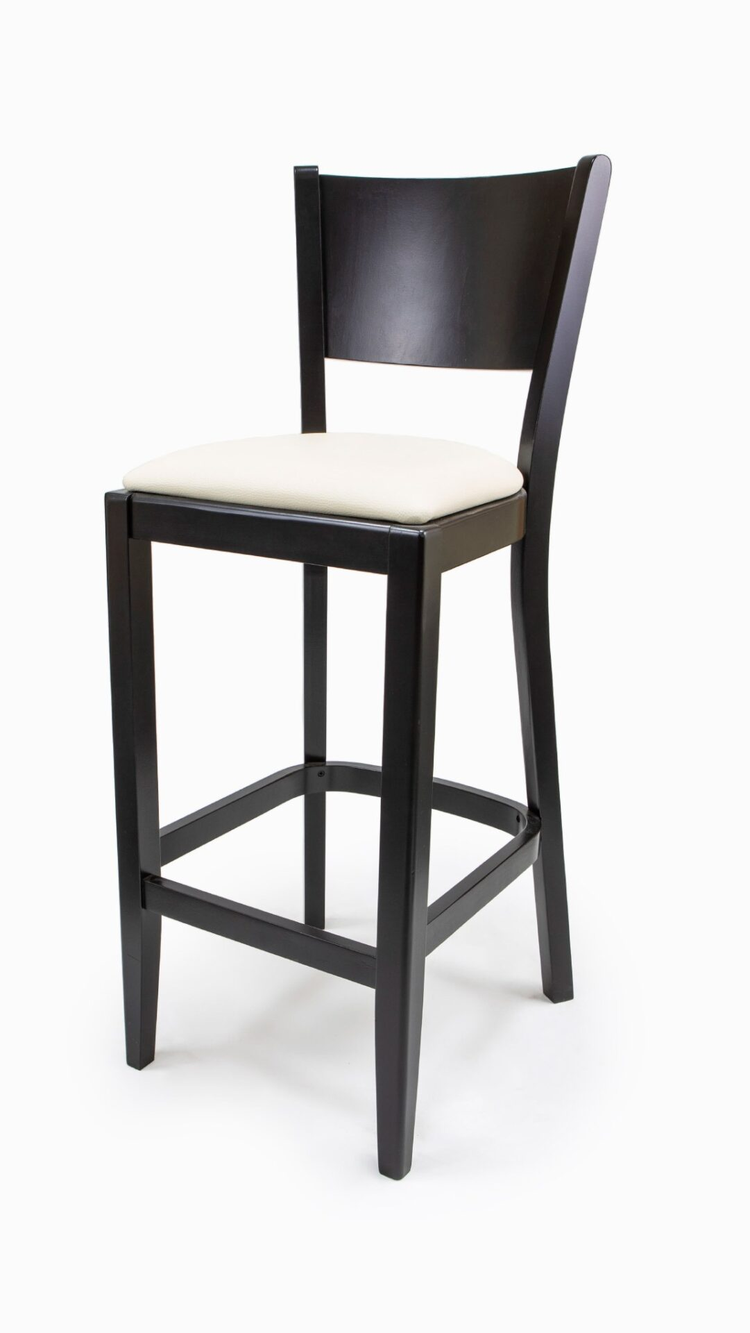 Solid Wood bar stool made of Beech - 1301B