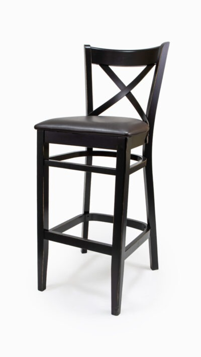 Solid Wood bar stool made of Beech - 1302B