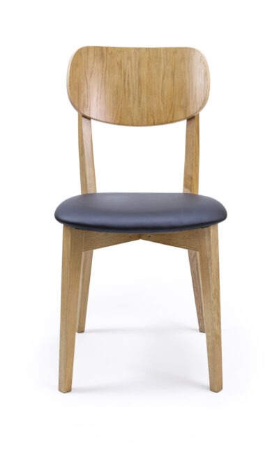 Solid Wood Chair made of Beech or Oak - 1306S, B