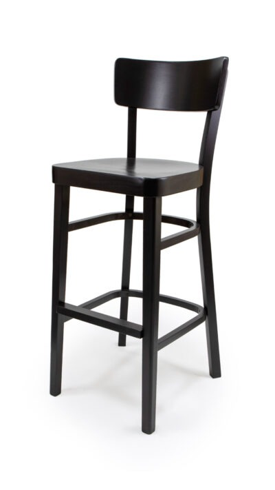 Solid Wood bar stool made of Beech - 1310B