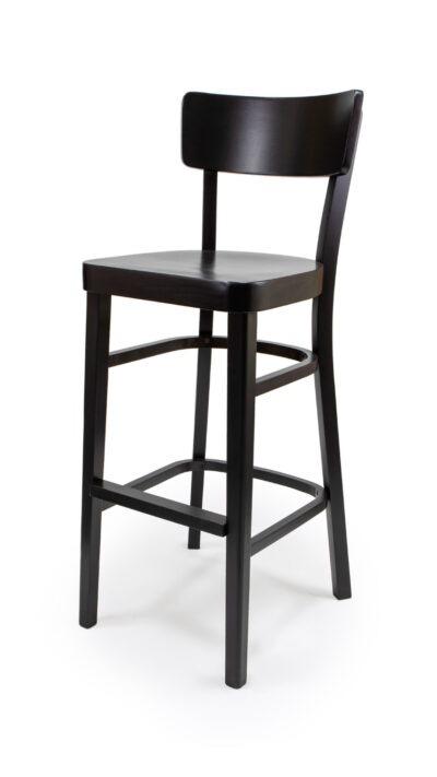 Масивен бар стол от бук - 1310B