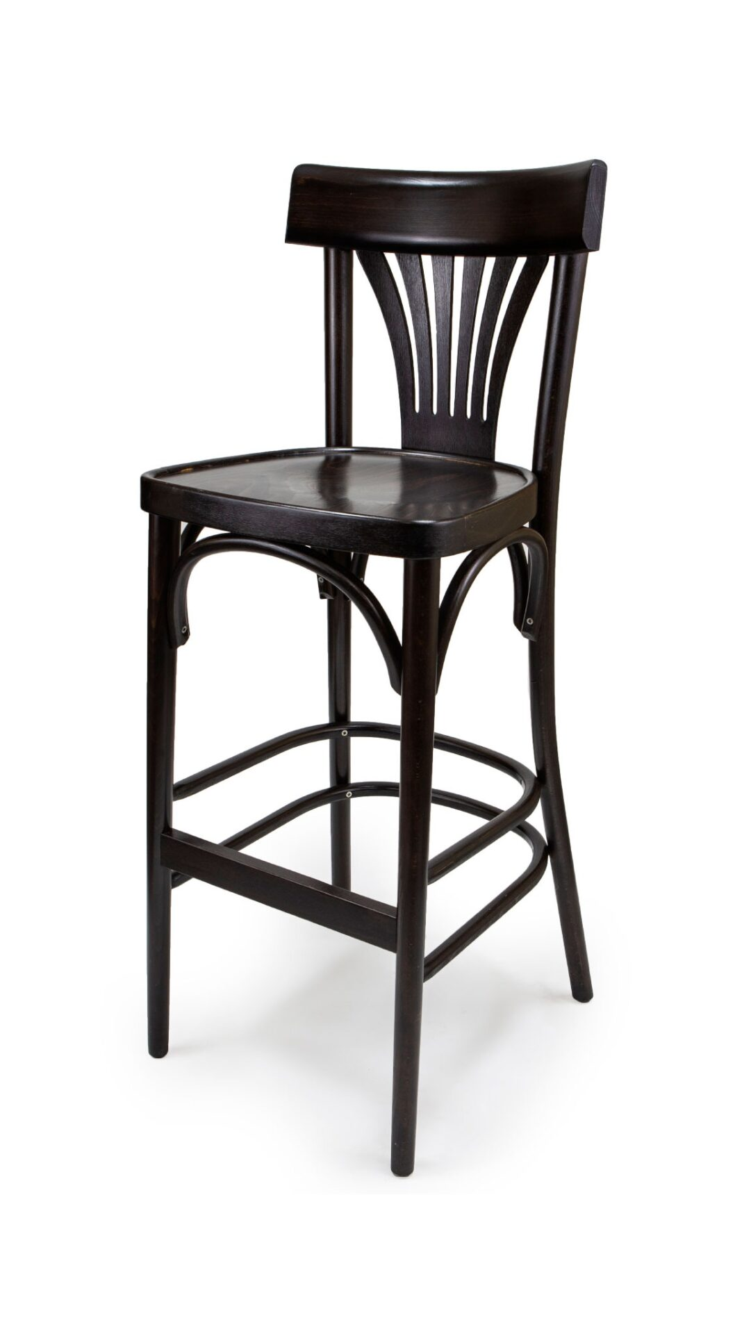 Solid Wood bar stool made of Beech - 1320B