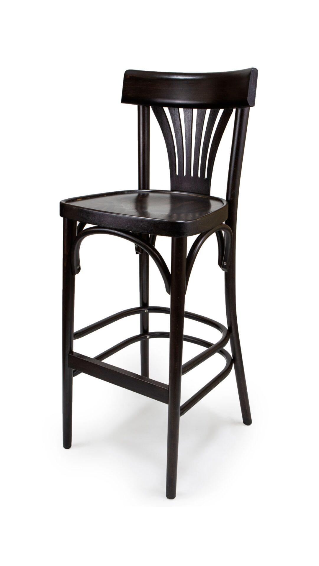 Масивен бар стол от бук - 1337B