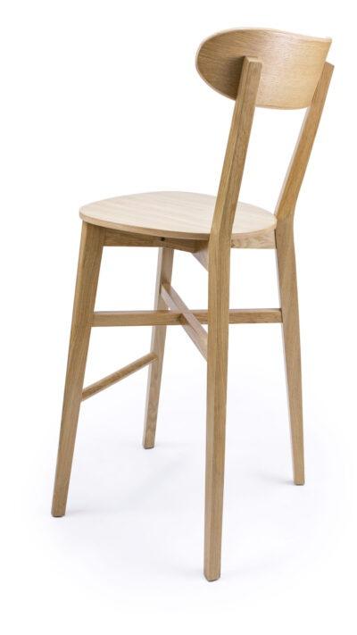 Бар стол от масив бук или дъб - 1321B