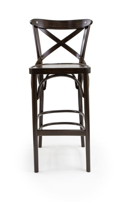 Solid Wood barstool made of Beech - 1327B