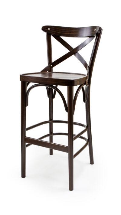 Бар стол от масив бук - 1327B