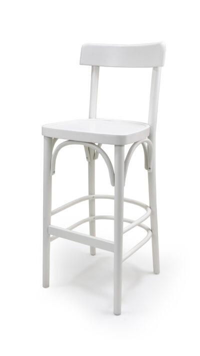 Solid Wood bar stool made of Beech - 1330B