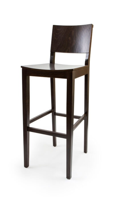 Solid Wood barstool made of Beech - 1332B