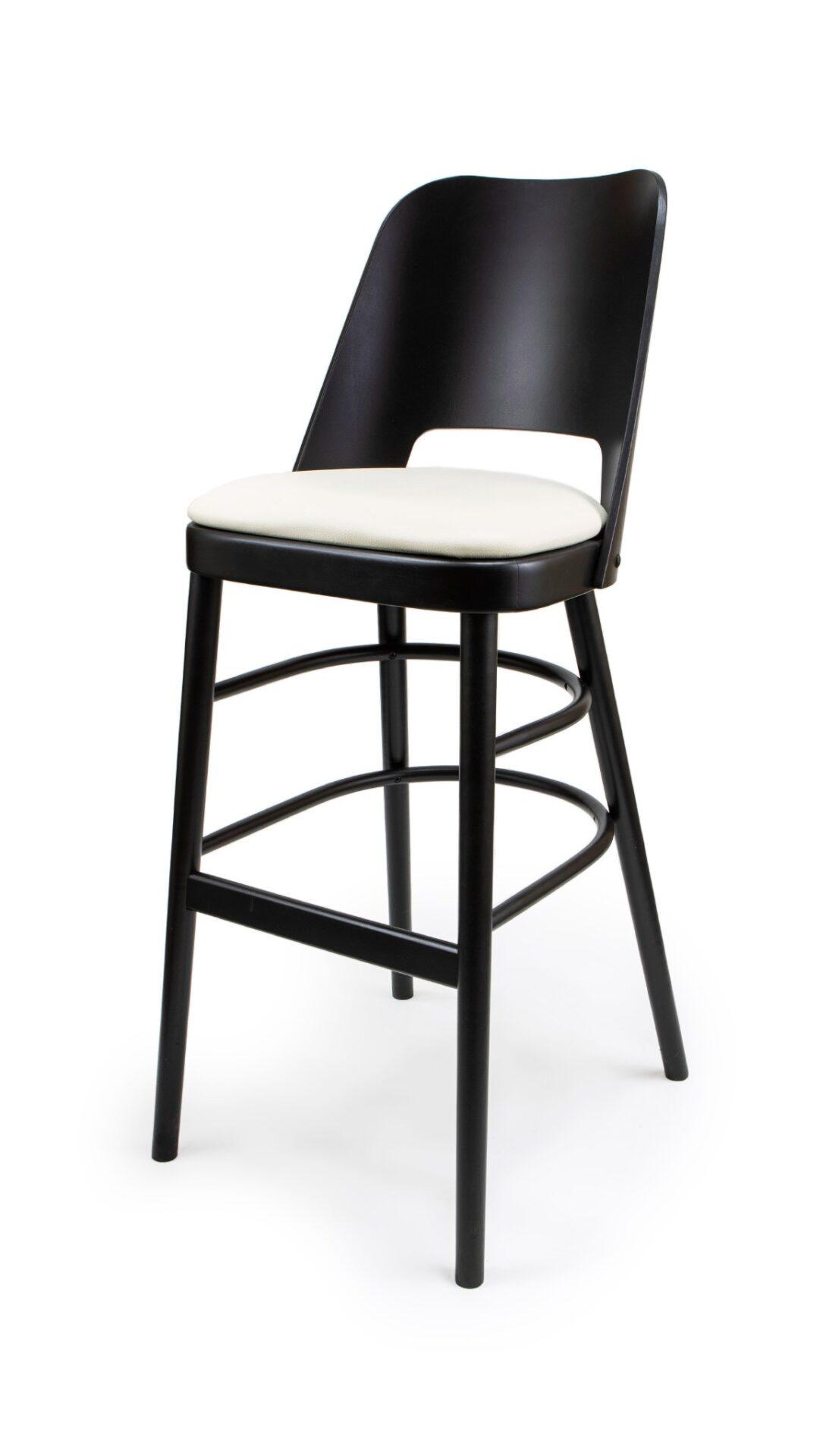 Solid Wood bar stool made of Beech - 1334B