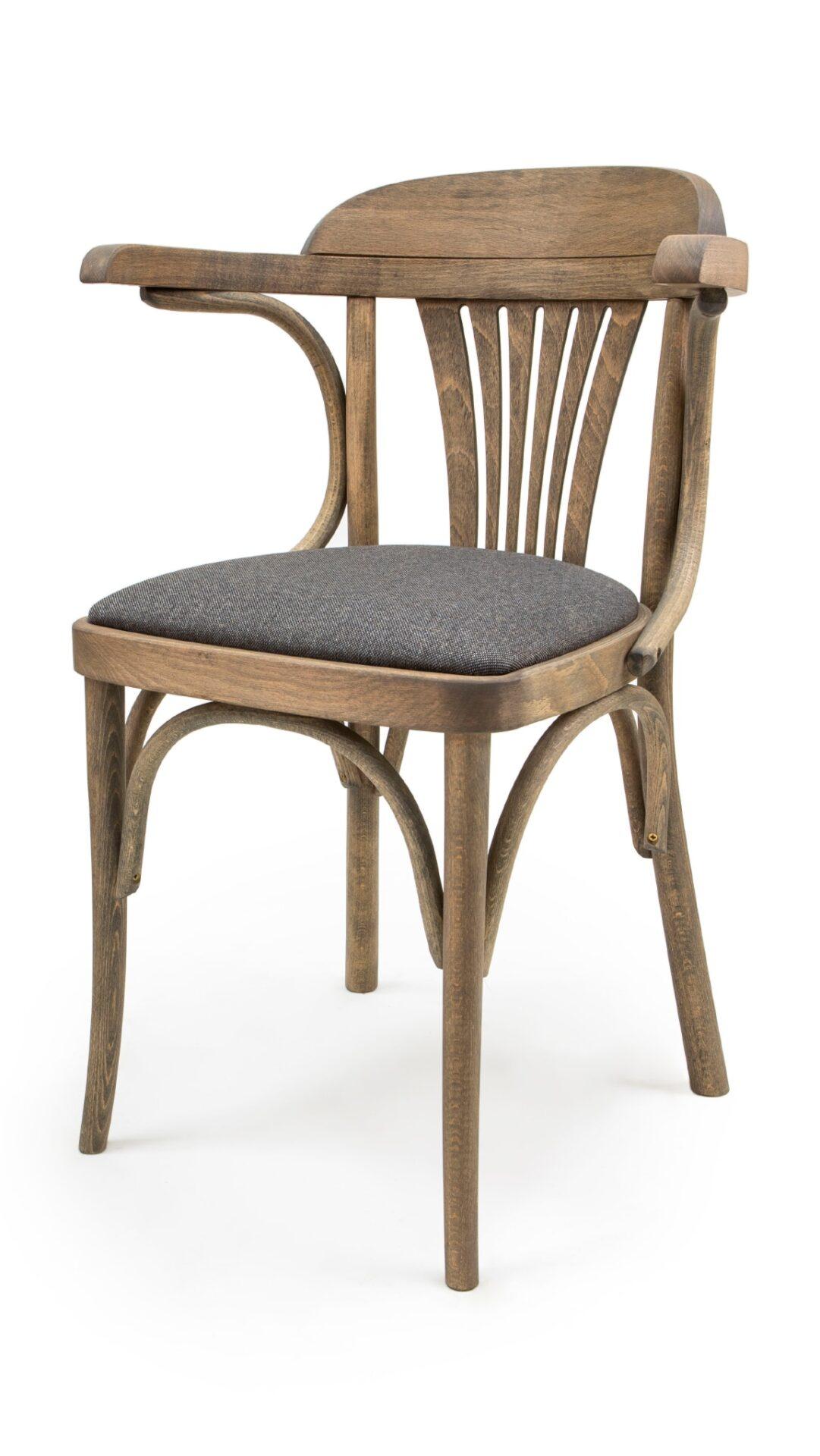 Стол с подлакътници от масив бук - 1337A