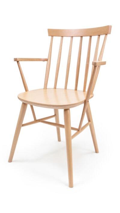 Масивен стол от бук - 1338А