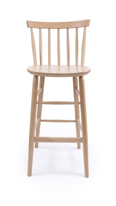 Масивен бар стол от бук - 1338B