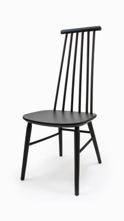 We use solid wood for the production - mainly oak and beech, which makes our chairs comfortable and durable.