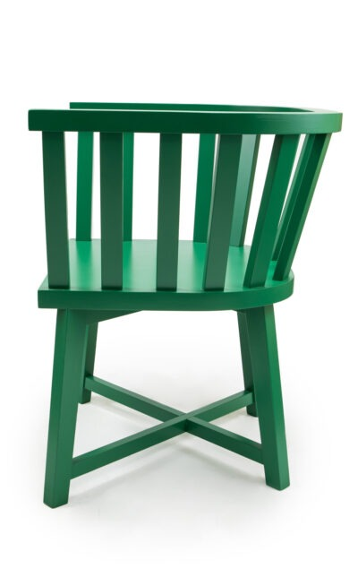 Solid wood armchair made of beech - 1340А