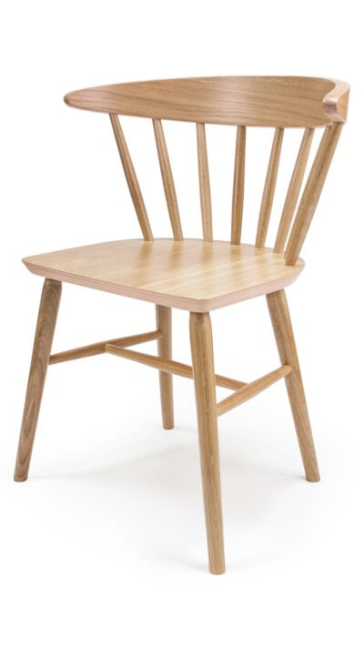 Solid Wood Chair made of Beech or Oak - 1351S