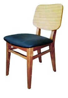 Solid Wood Chair made of Beech or Oak - 1357S